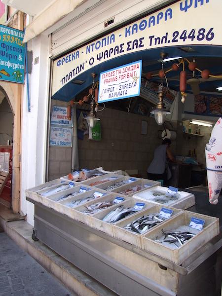 Рынок в Ретимно