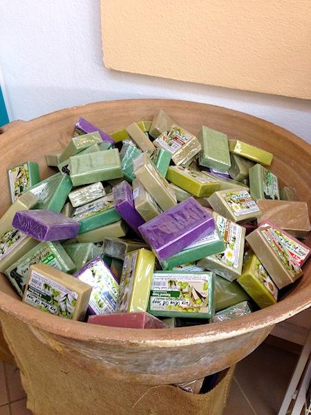 Критское мыло на основе оливкового масла