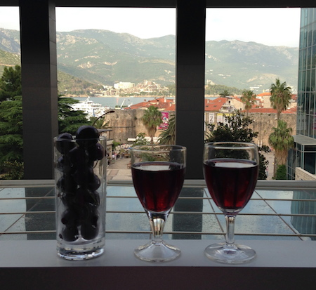 Черешня, вино