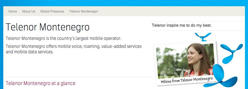Telenor - Montenegro