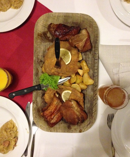 Ужин в Кракове