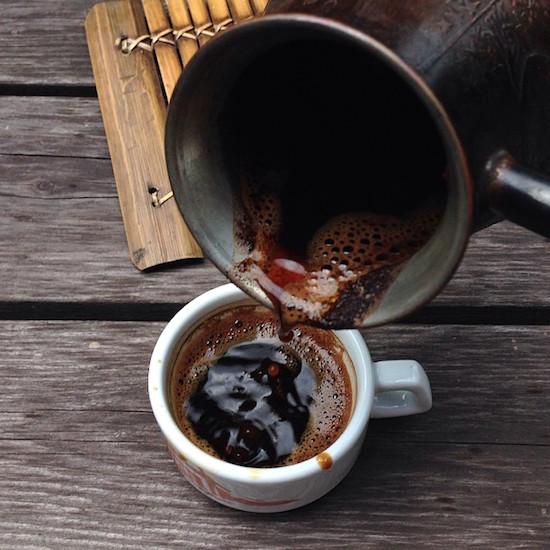 Кофейные капли