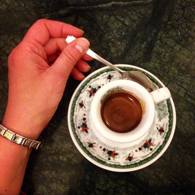 Кофе в Гамбринусе