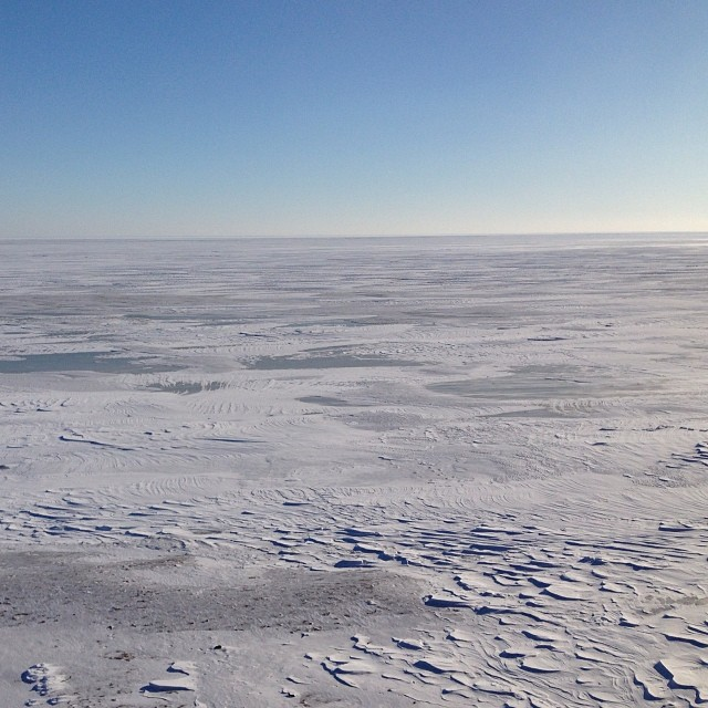 Море замерзло