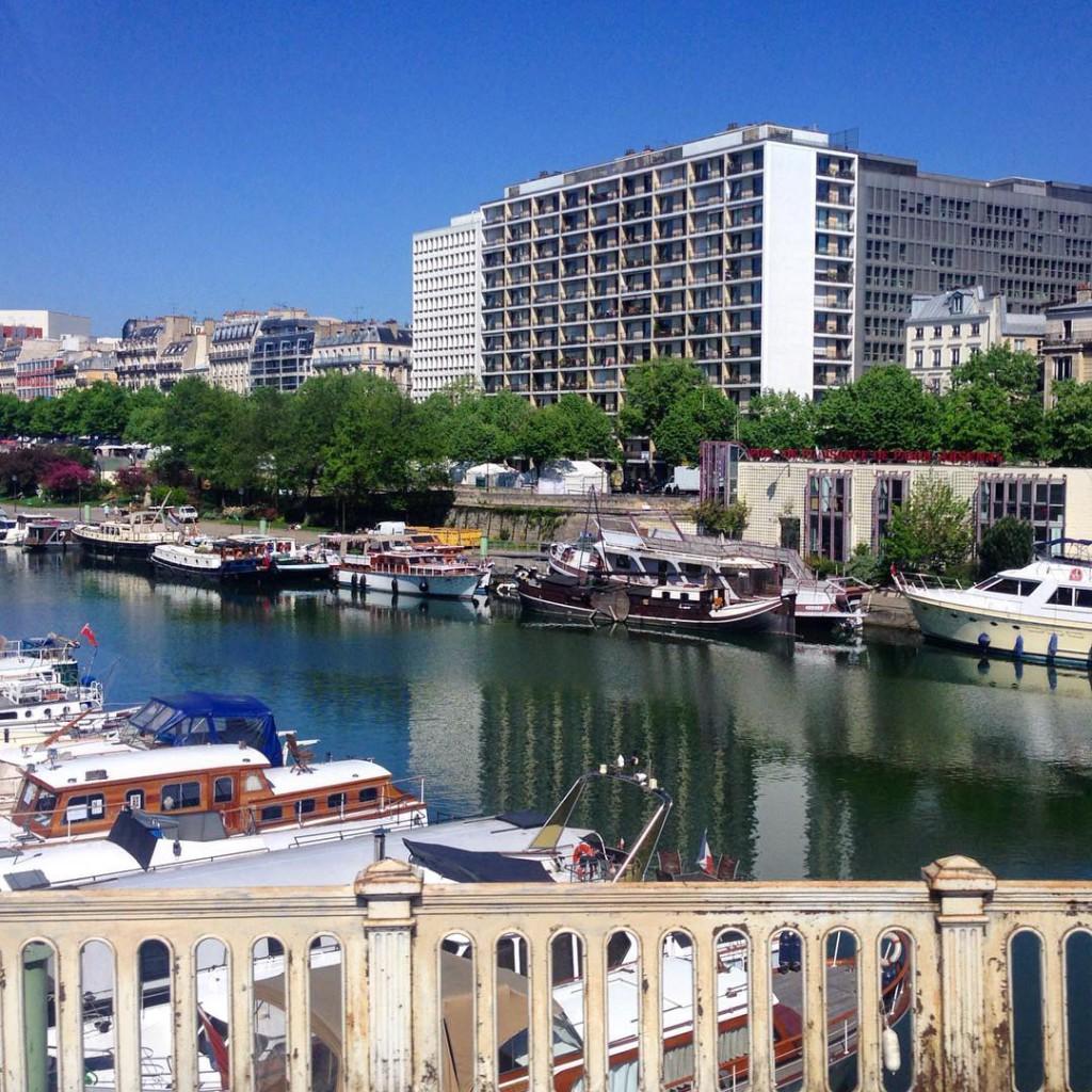 Париж, набережная Сены