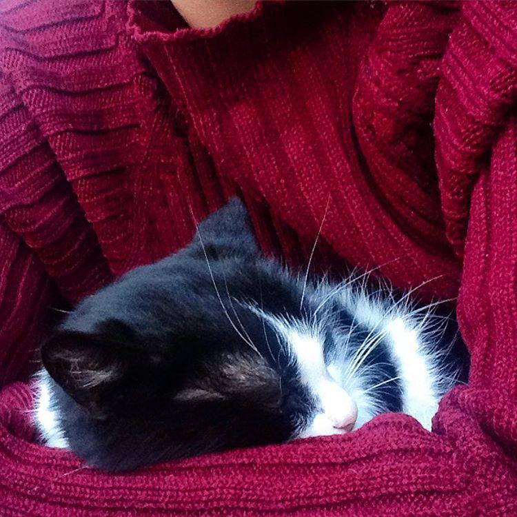 Юночка спит