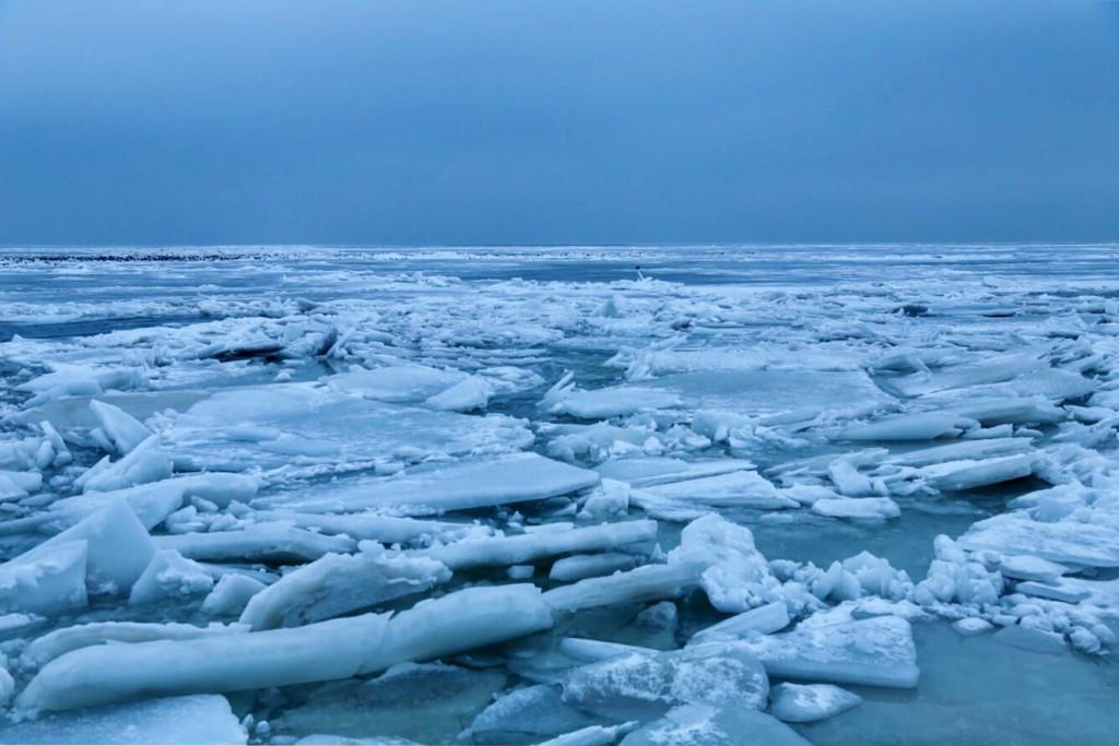 Азовское море во льдах
